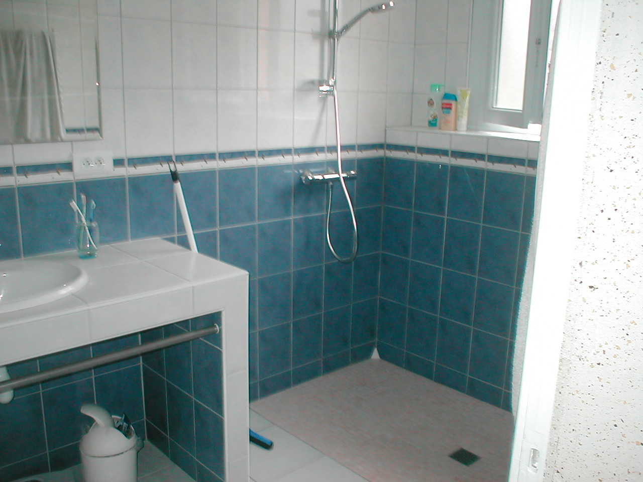 R novation compl te salle de bain douche italienne for Photo salle bain
